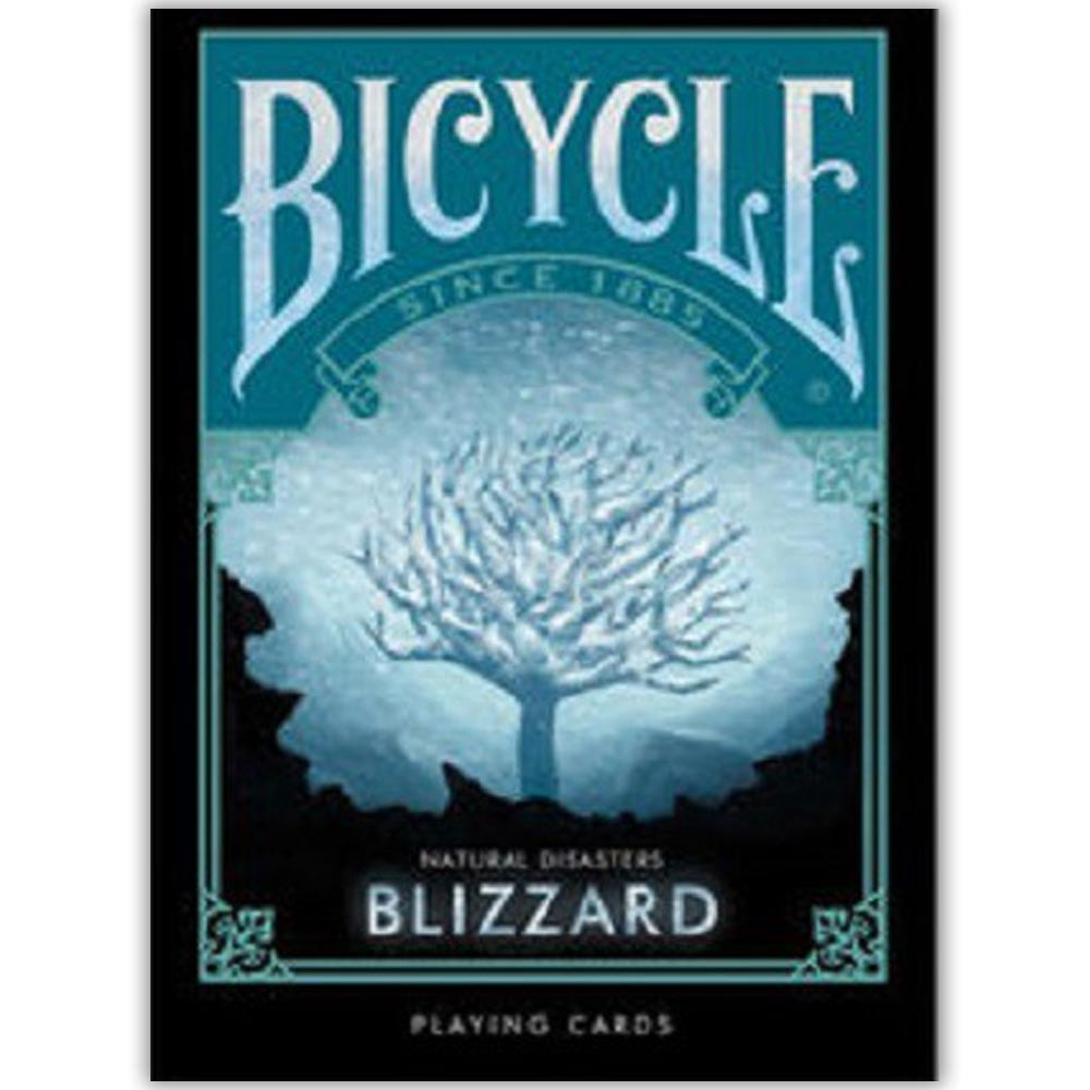 Baralho Bicycle Desastres Naturais BLIZZARD