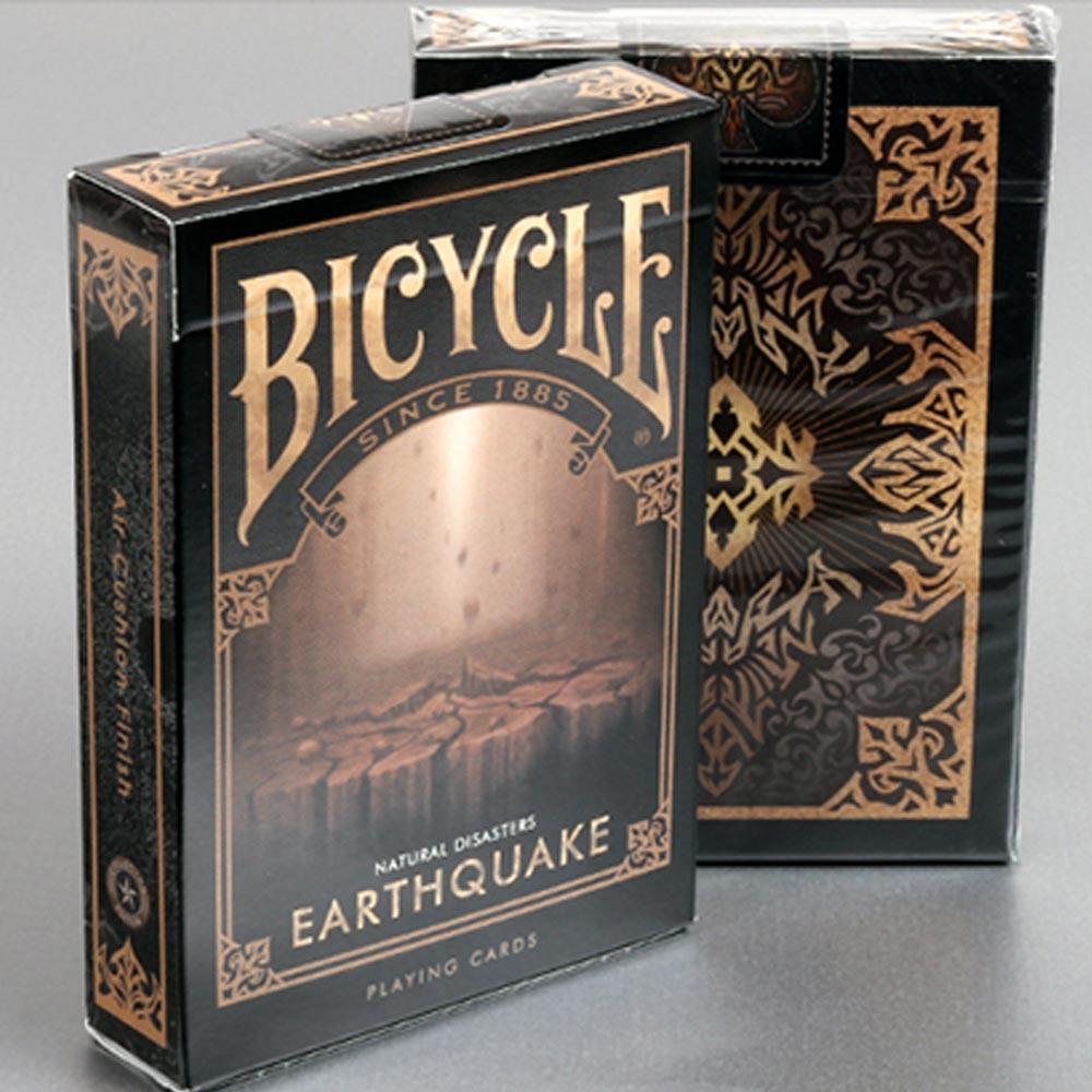 Baralho Bicycle Desastres Naturais EARTHQUAKE