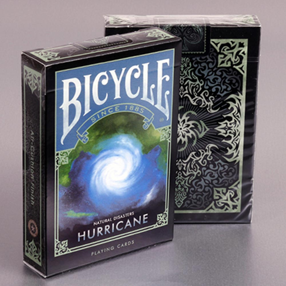 Baralho Bicycle Desastres Naturais HURRICANE