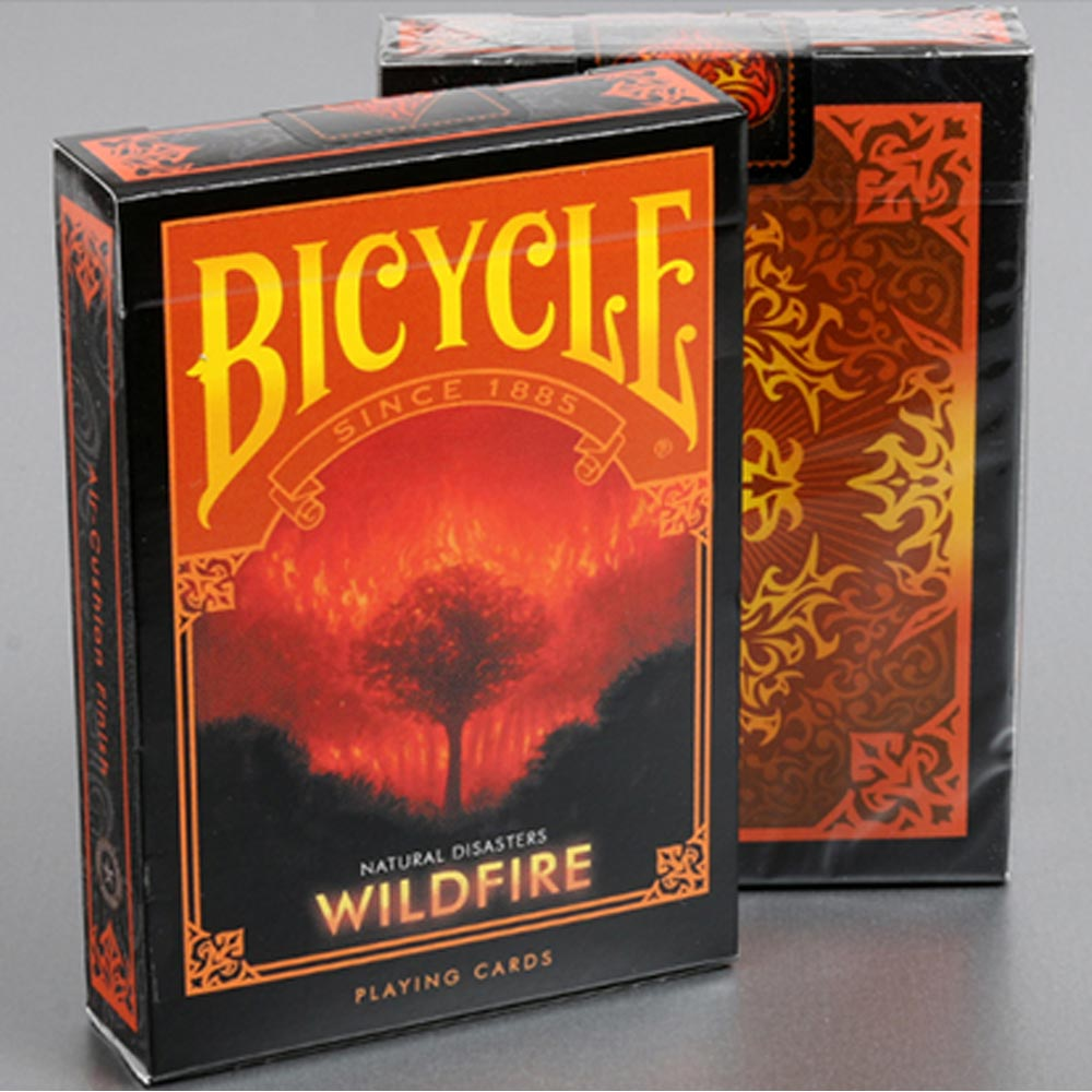 Baralho Bicycle Desastres Naturais WILDFIRE