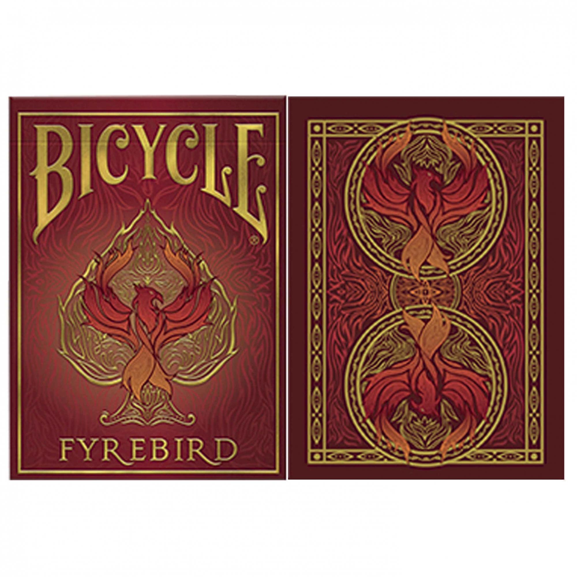 Baralho Bicycle Fyrebird - Premium Deck (Lançamento)