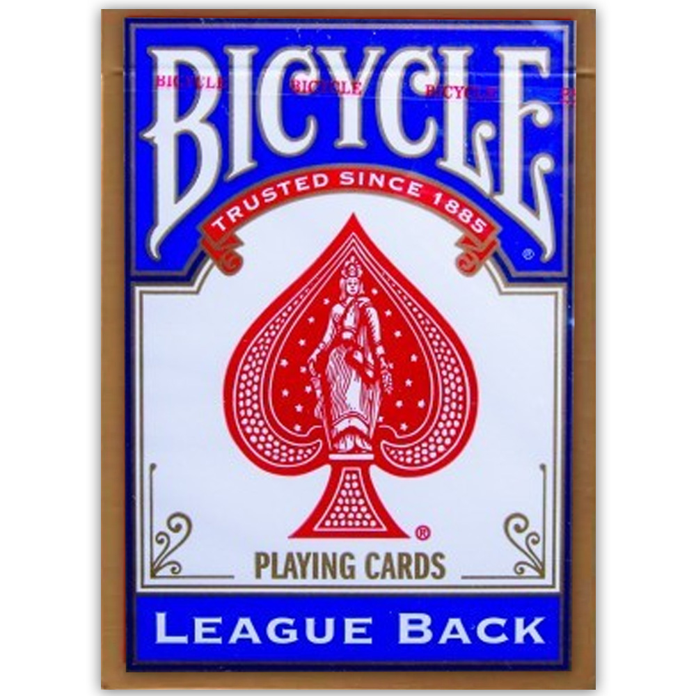 Baralho Bicycle League Back Azul