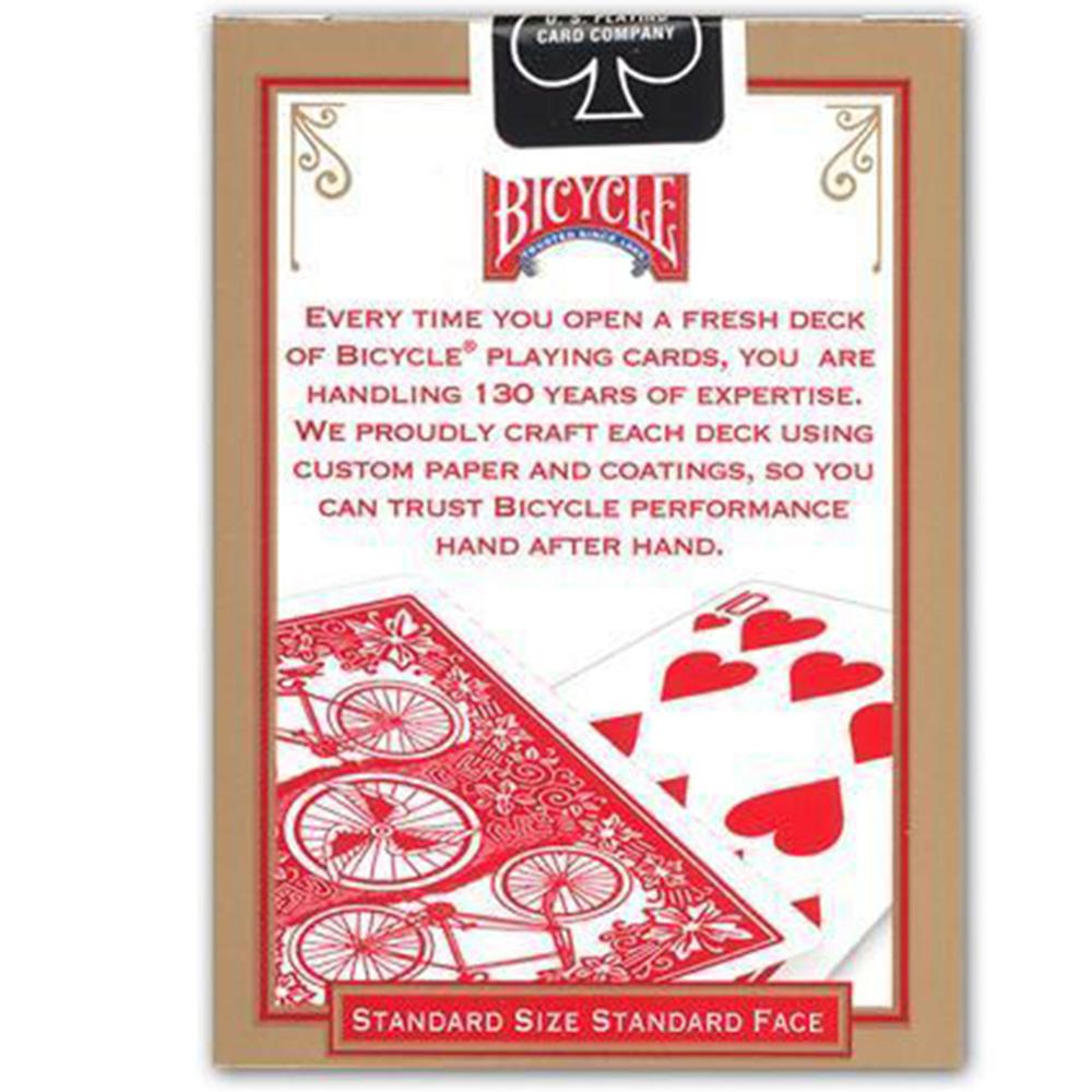 Baralho Bicycle League Back Vermelho