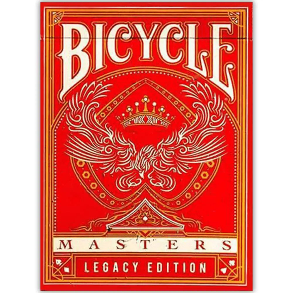 Baralho Bicycle Legacy Shadow Masters Vermelho