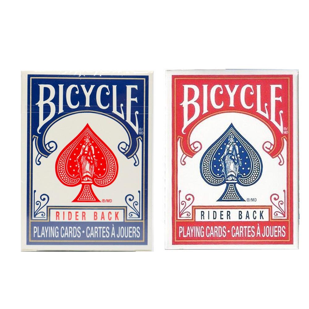 Baralho Bicycle Mini Deck  Azul e Vermelho (Combo com 2 baralhos)
