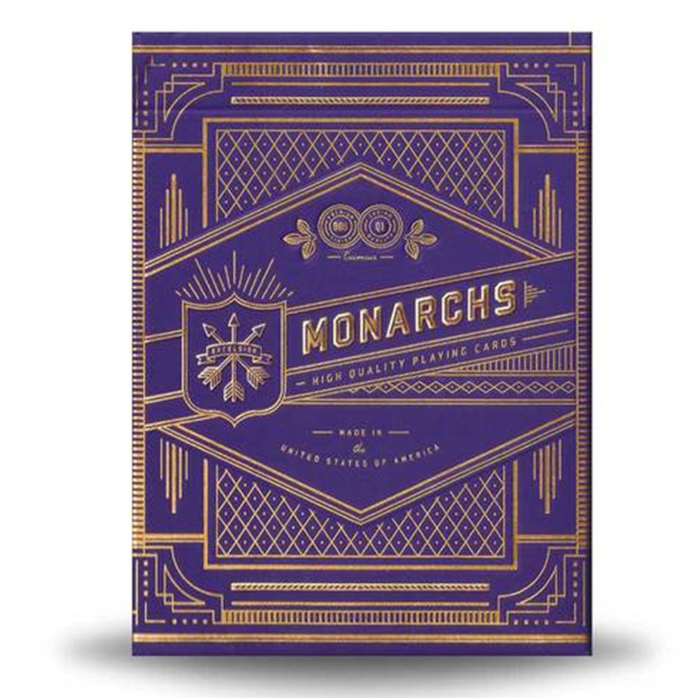 Baralho Bicycle Monarchs Purple - Premium Deck