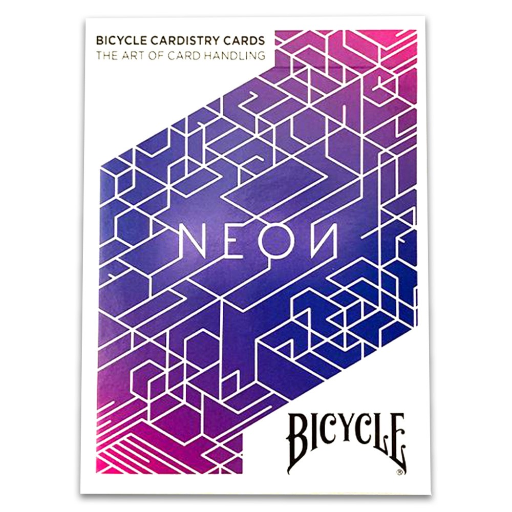 Baralho Bicycle Neon e Neon Aurora ( Kit com 2 Baralhos )