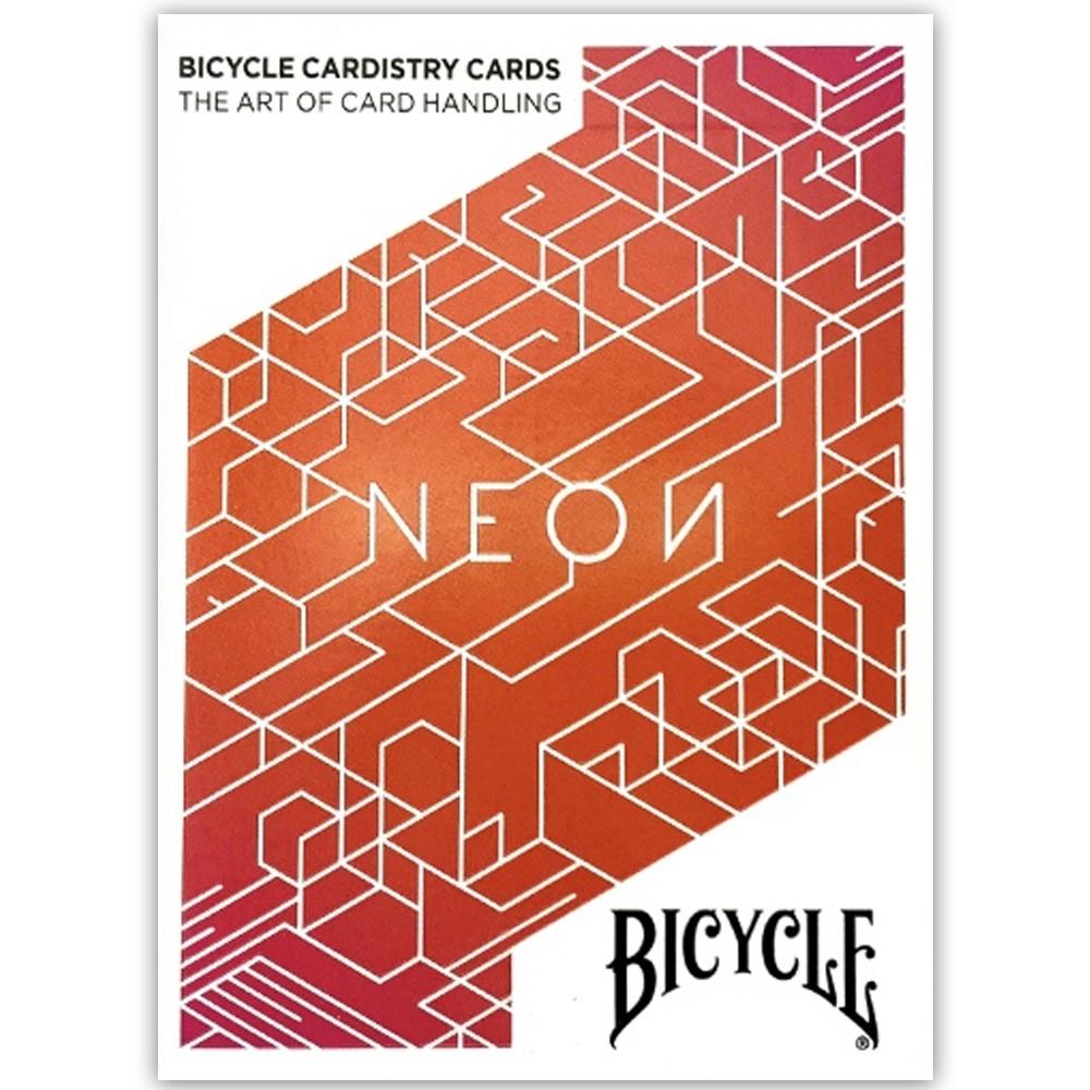 Baralho Bicycle Neon e Neon Orange Bump( Kit com 2 Baralhos )