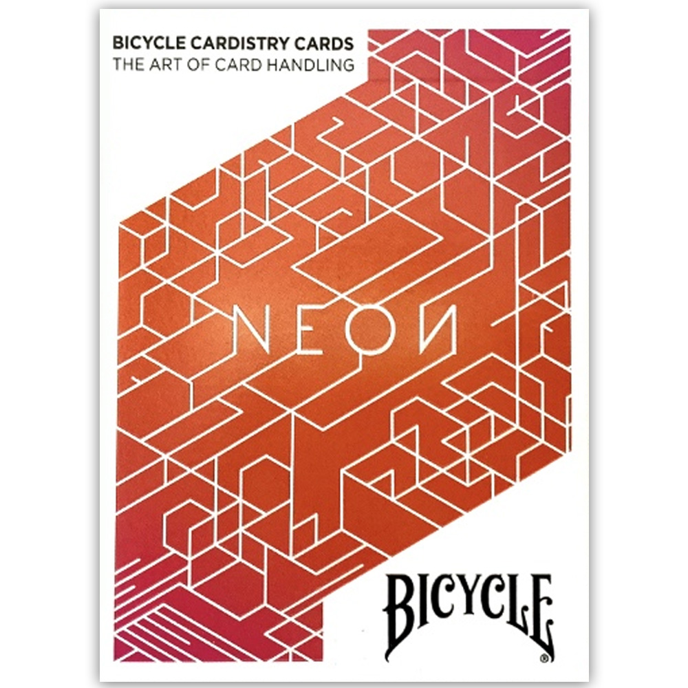 Baralho Bicycle Neon Orange Bump