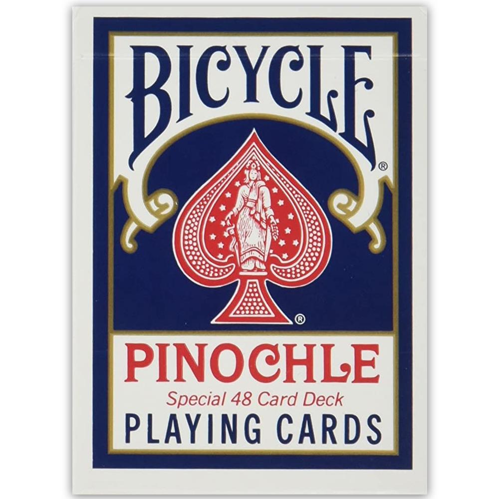 Baralho Bicycle Pinochle Azul (PROMO ANIVERSÁRIO)