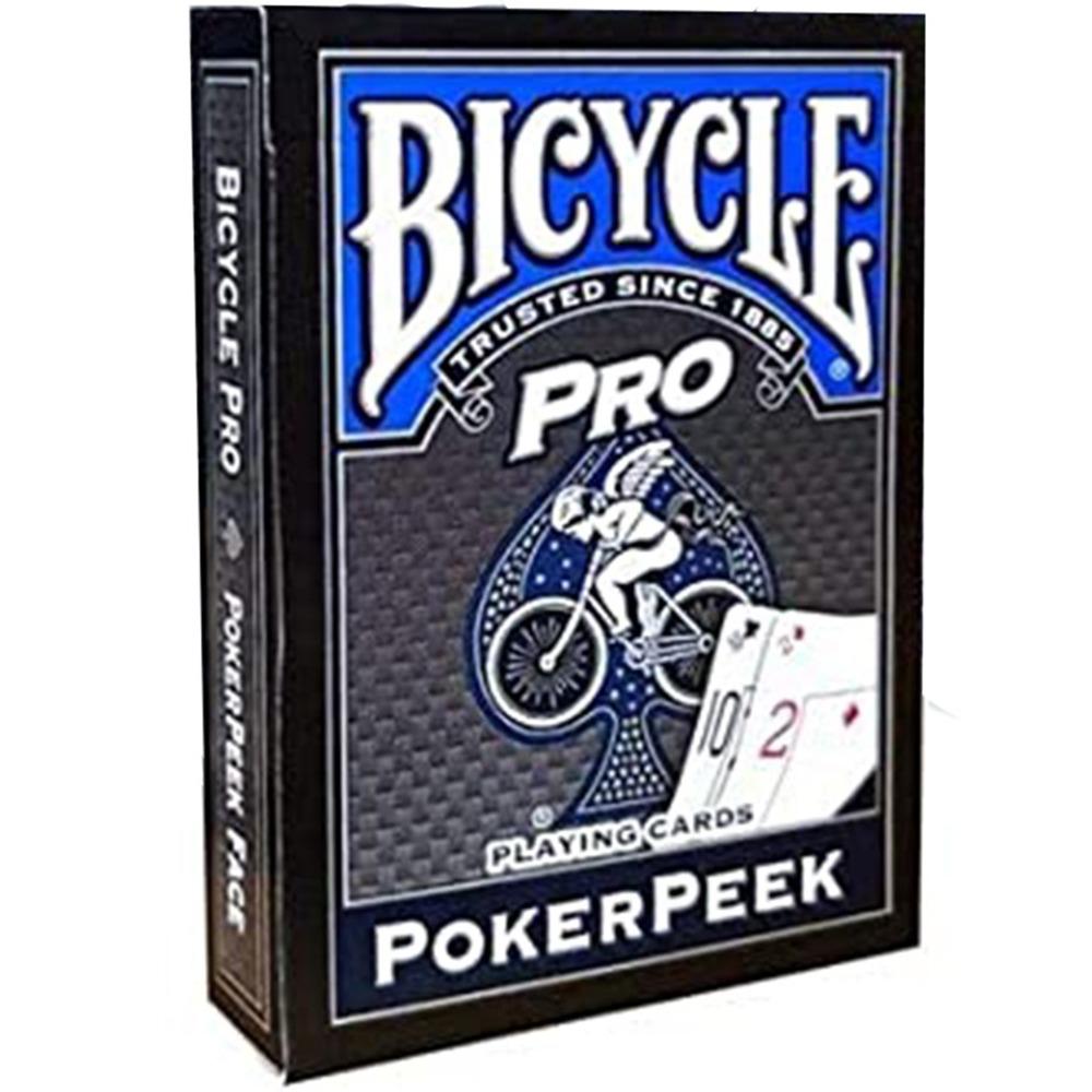 Baralho Bicycle Pro Poker Peek - azul