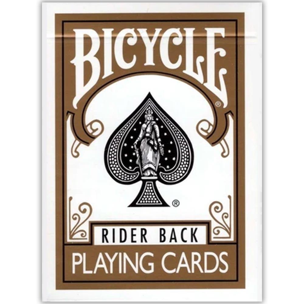 Baralho Bicycle Rider Back Dourado