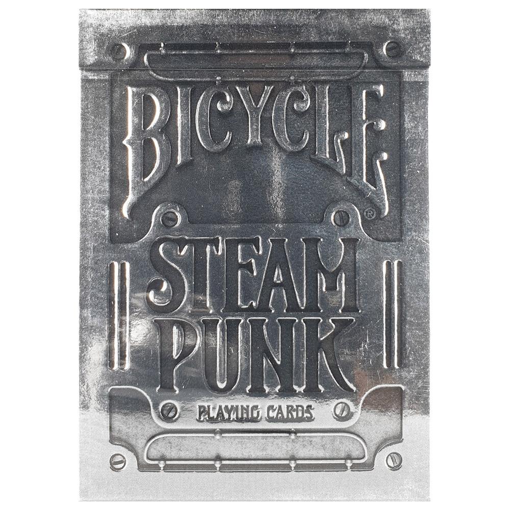 Baralho Bicycle Silver Steampunk - PREMIUM Deck