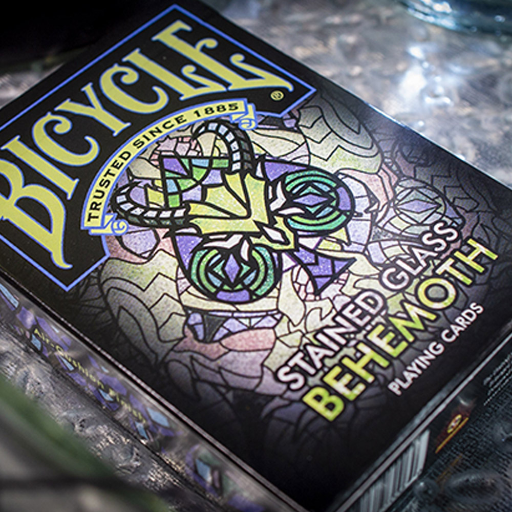 Baralho Bicycle Stained Glass BEHEMOTH