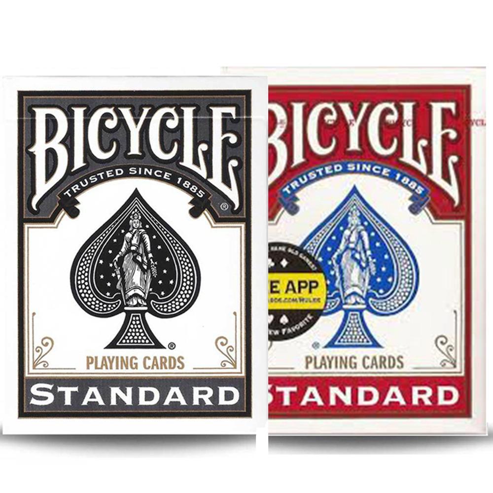 Baralho Bicycle Standard Preto e Vermelho (KIT com 2 Baralhos )