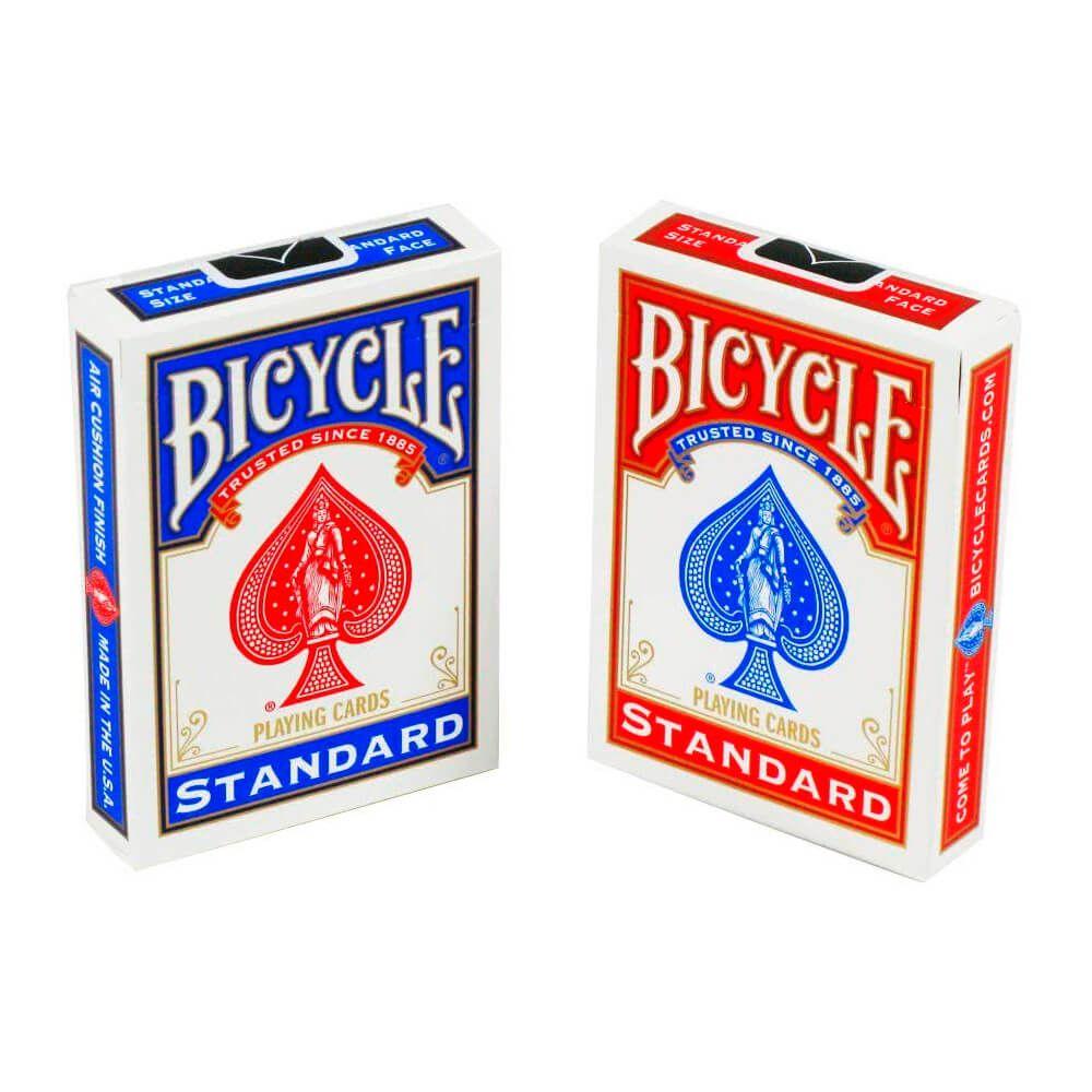 Baralho Bicycle Standard Red & Blue (02 Decks)
