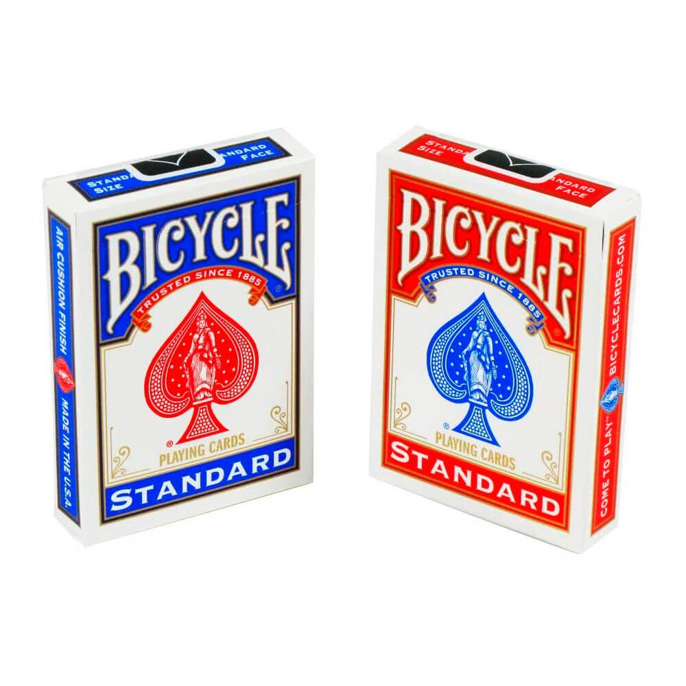 Baralho Bicycle Standard Red & Blue (02 Decks)