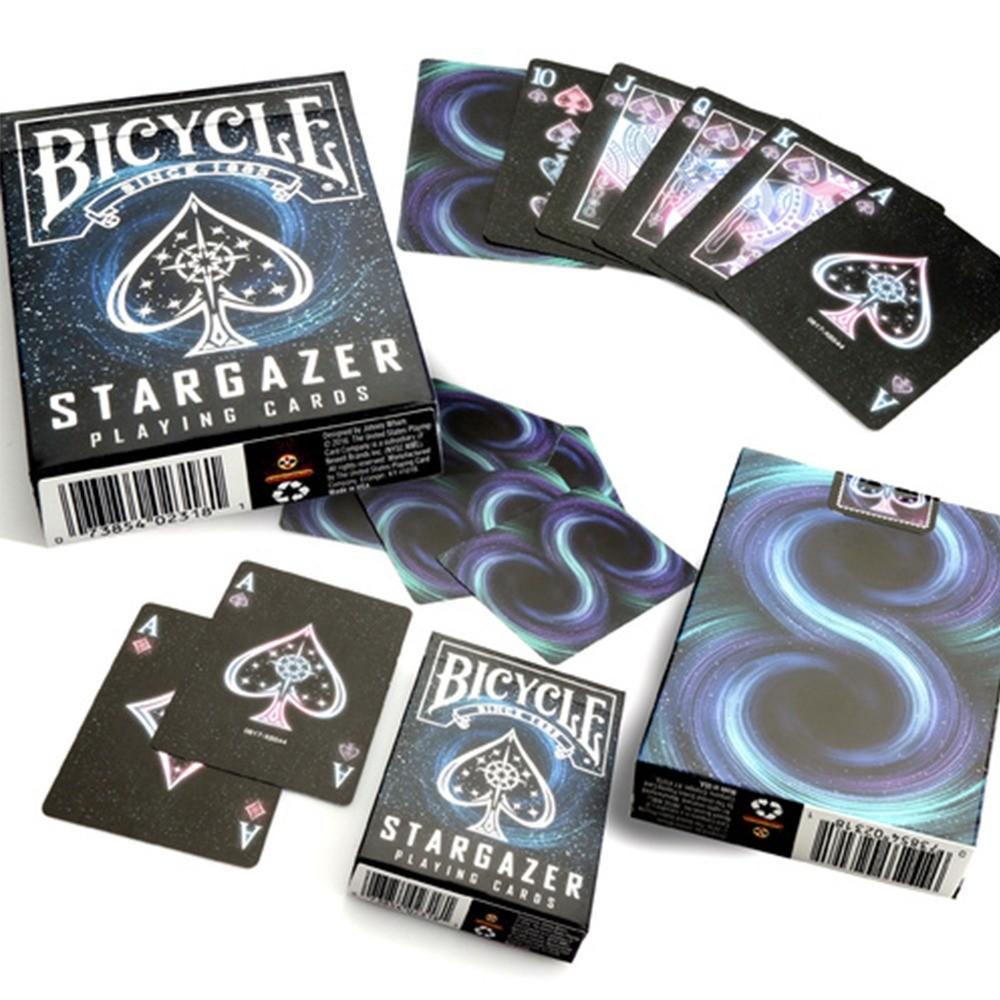 Baralho Bicycle Stargazer  e Stargazer Nebula (kit com 2 baralhos)