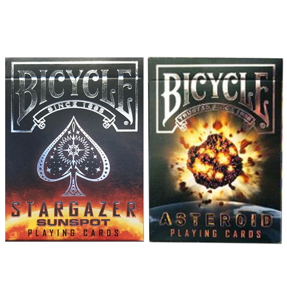 Baralho Bicycle Stargazer  e Stargazer Sunspot (kit com 2 baralhos)