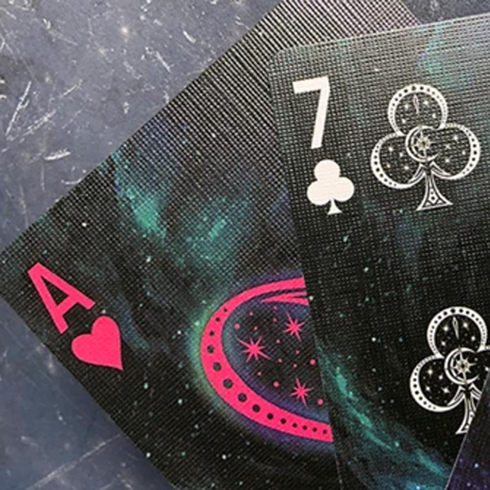 Baralho Bicycle Stargazer New Moon e Stargazer Asteroid (kit com 2 baralhos)