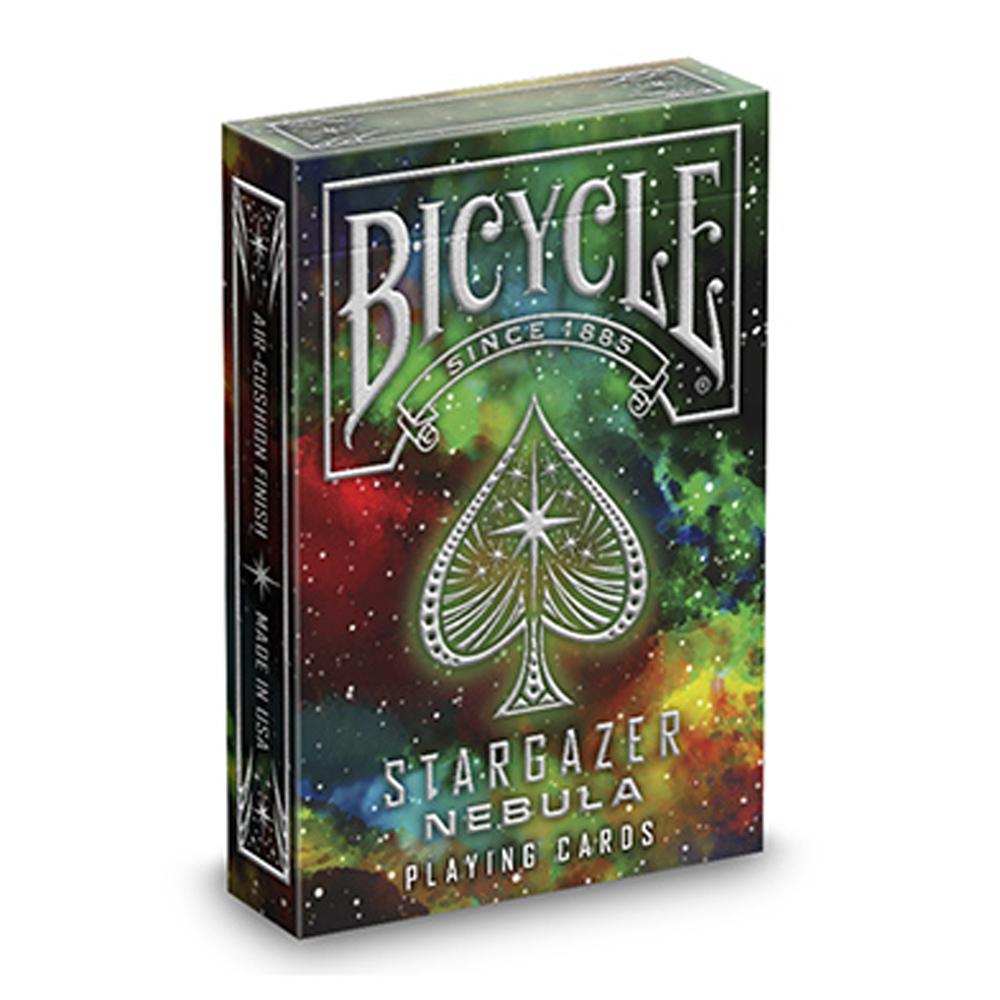 Baralho Bicycle Stargazer New Moon  e Stargazer Nebula (kit com 2 baralhos)