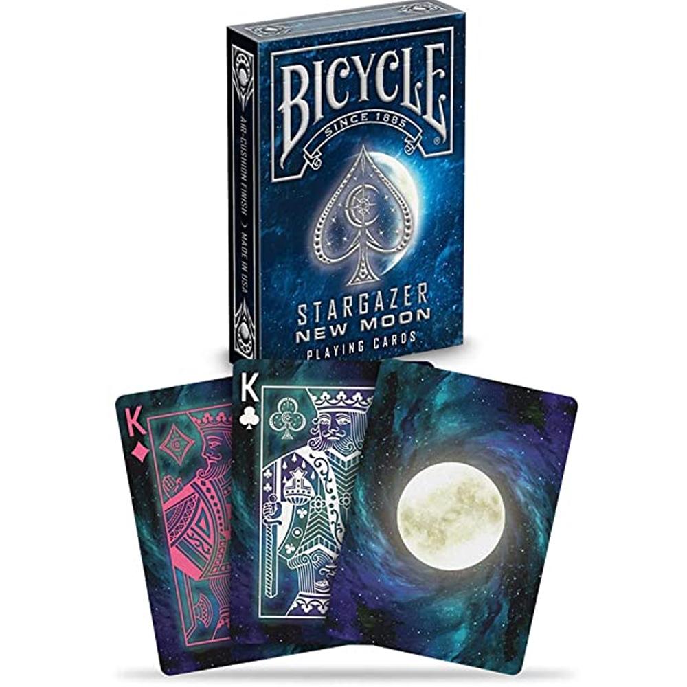 Baralho Bicycle Stargazer New Moon  e Stargazer Sunspot (kit com 2 baralhos)