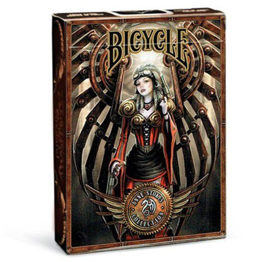 Baralho Bicycle Steampunk by Anne Stokes
