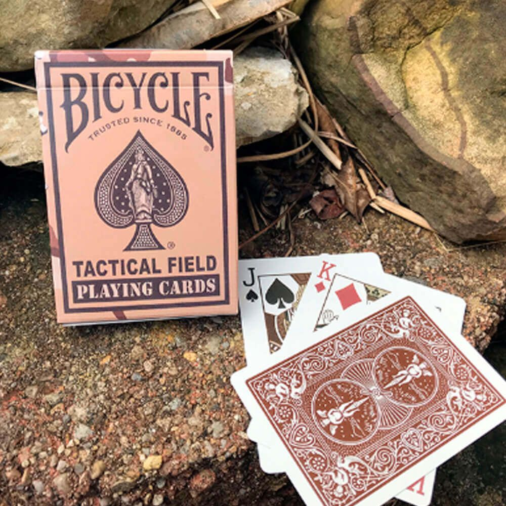 Baralho Bicycle Tactical Field Desert