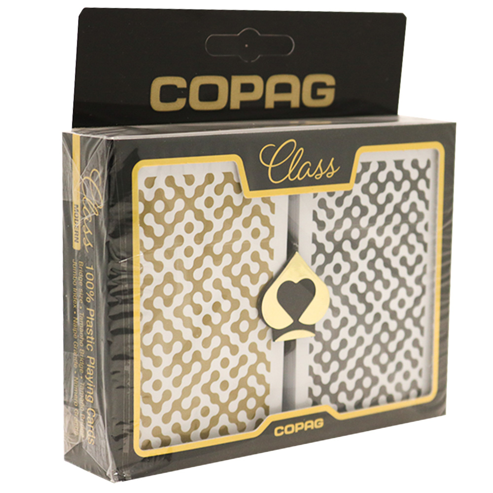 Baralho Copag CLASS Modern Plástico - Naipe Grande