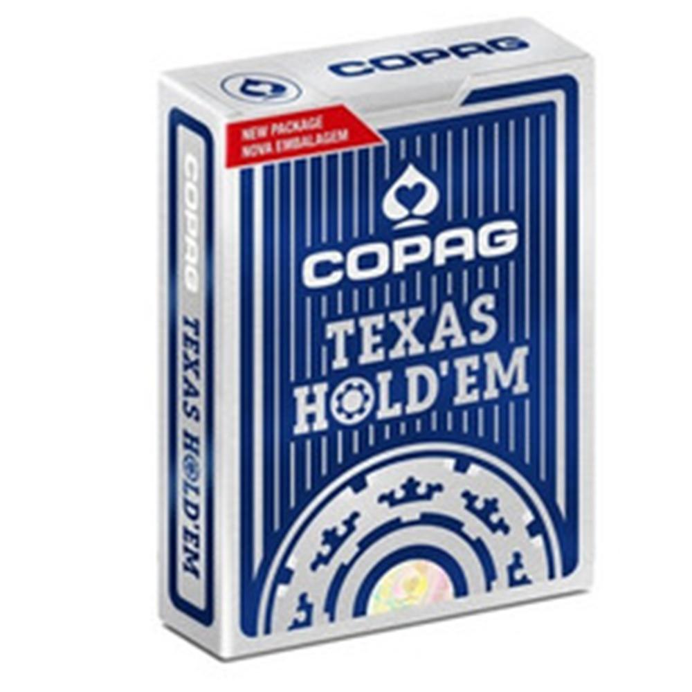 Baralho Copag de Poker  Texas Hold Azul