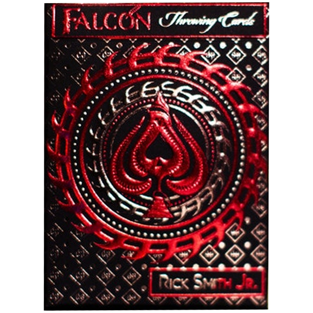 Baralho Falcon Throwing Cards by Rick Smith Jr and De'vo 1SR EDITION