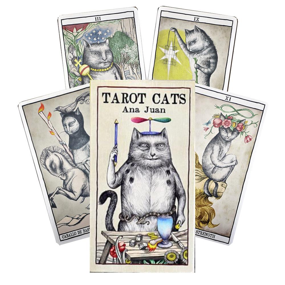 Baralho Fournier Tarot Cats Ana Juan