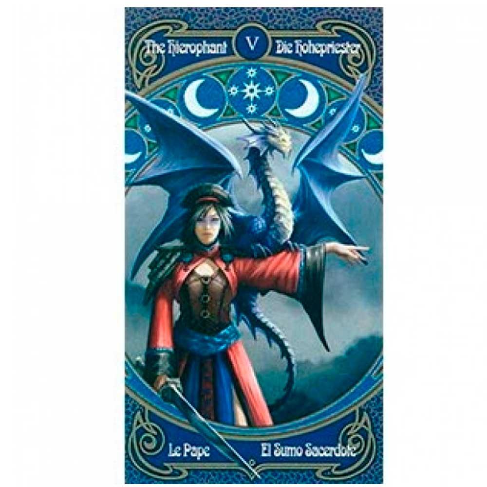 Baralho Fournier Tarot Legends By Anne Stokes