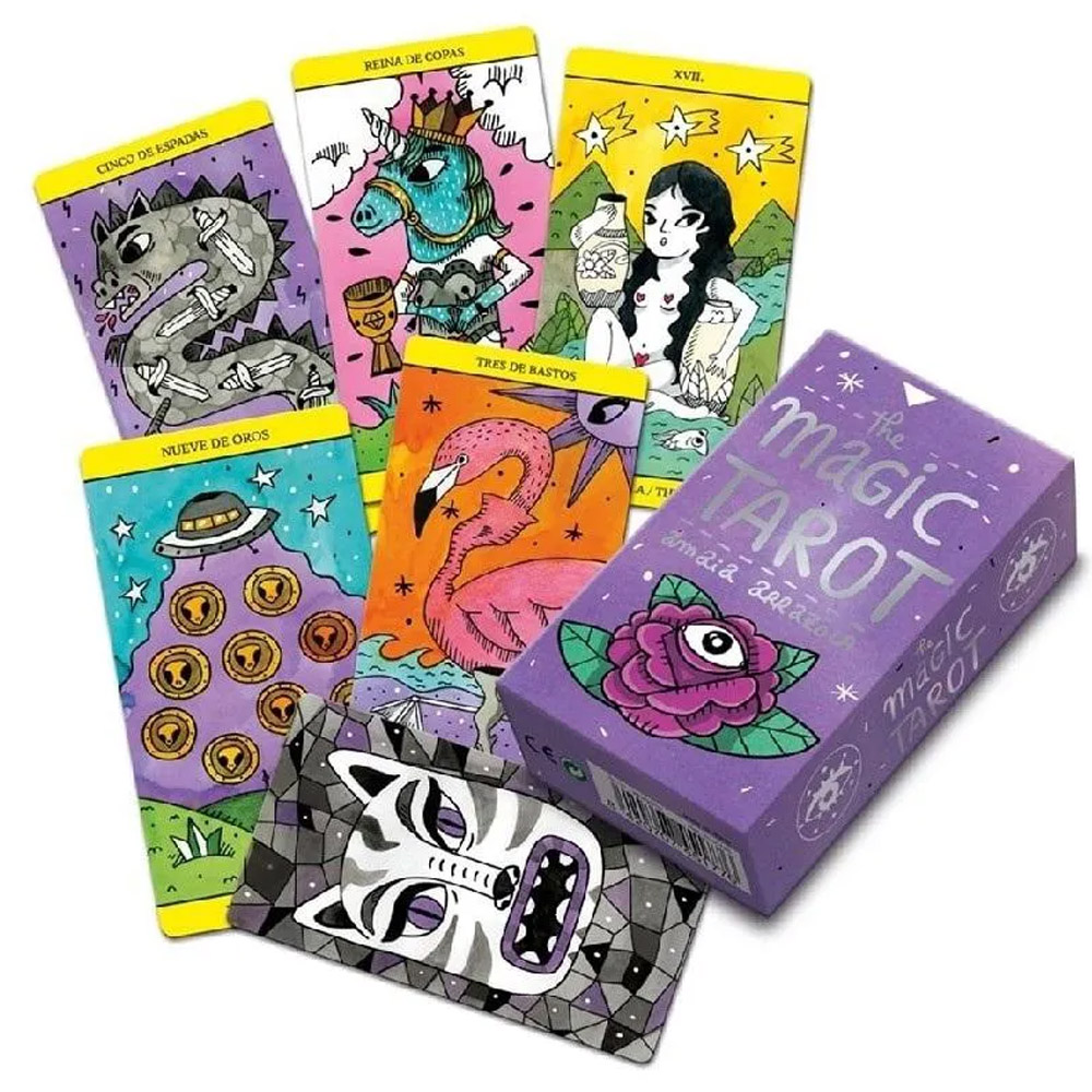 Baralho Fournier Tarot Magic by  Amaia Arrazola