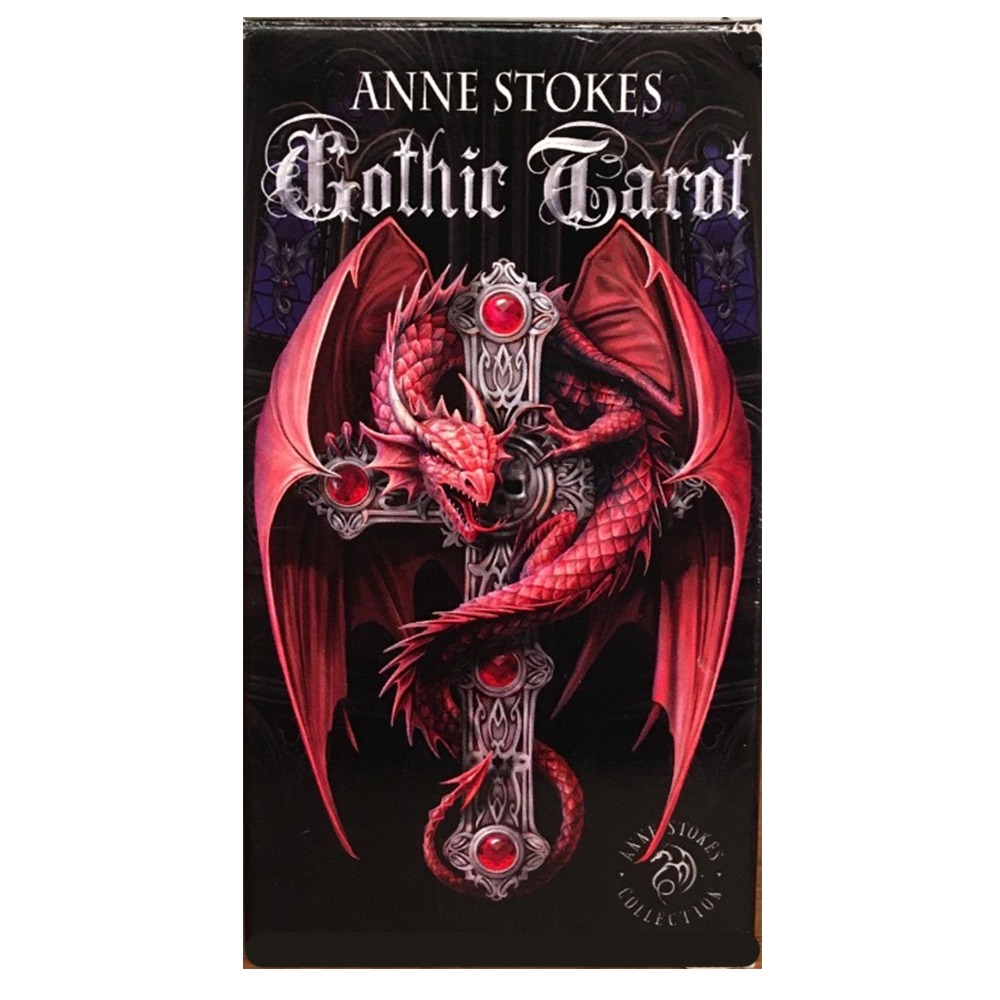 Baralho Fournier Tarot Stokes Gothic By Anne