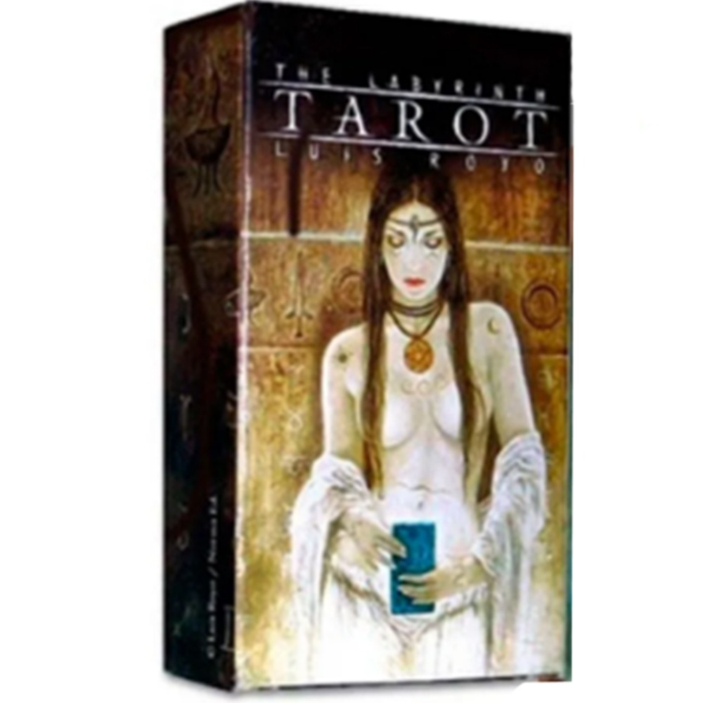 Baralho Fournier Tarot The Labyrinth By Luis Royo