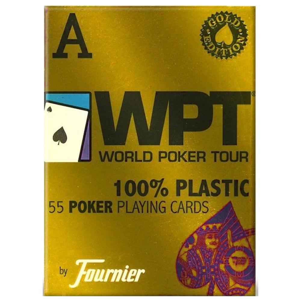 Baralho Fournier WPT Gold Edition Azul
