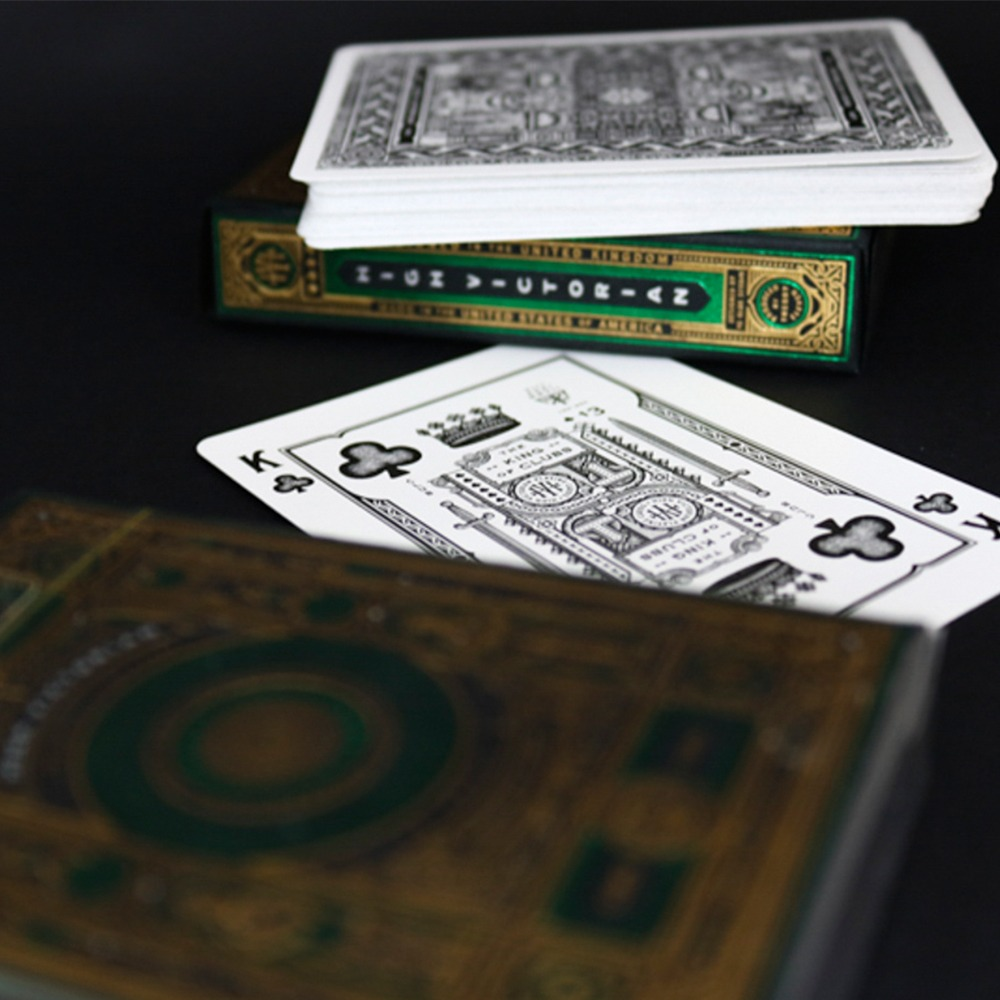 Baralho High Victorian Green / Verde - Premium Edition