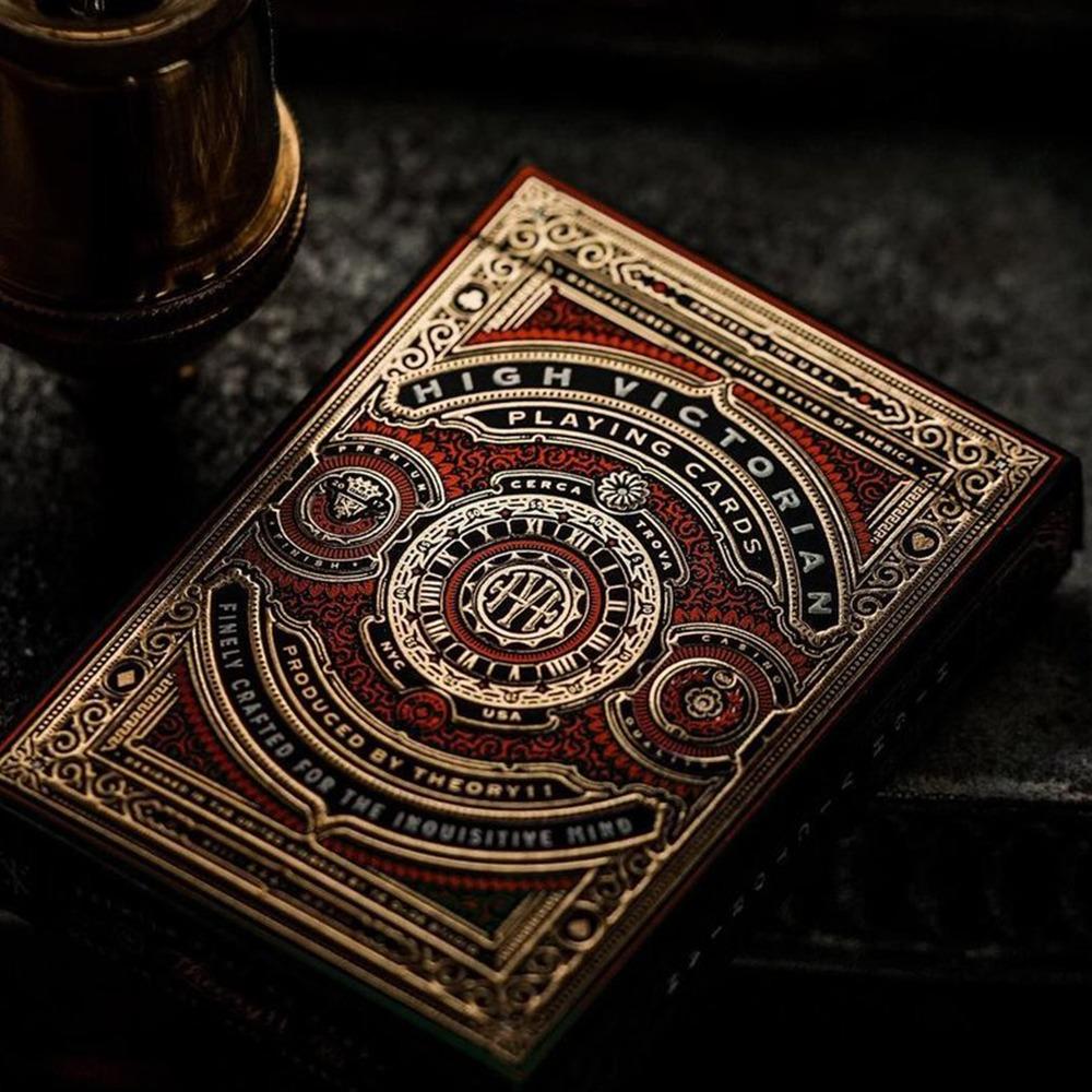 Baralho High Victorian Vermelho / Vermelho - Premium Edition