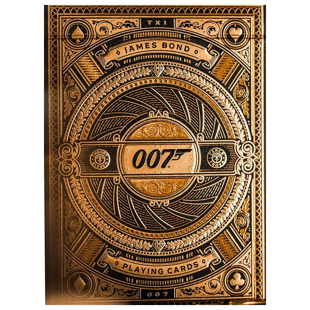 Baralho James Bond 007 Playing Cards  - Exclusive Edition