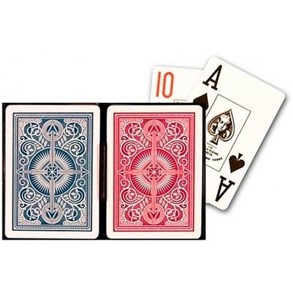 Baralho Kem Arrow Wide Jumbo (Poker Size)
