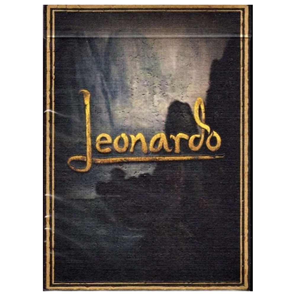Baralho Leonardo MMXVIII Gold Edition