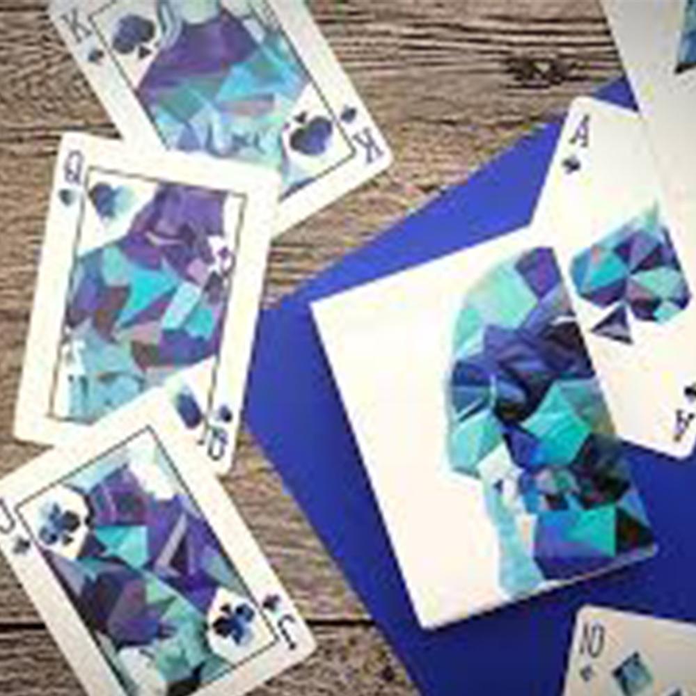 Baralho Memento Mori Azul e Mori Color ( Combo com 2 unidades )