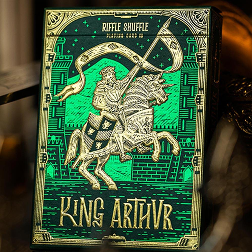 Baralho Rei Arthur - Verde