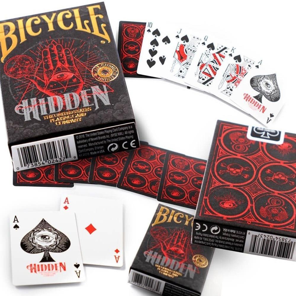 Baralho Salem e Bicycle Hidden - Kit com 2 Baralhos