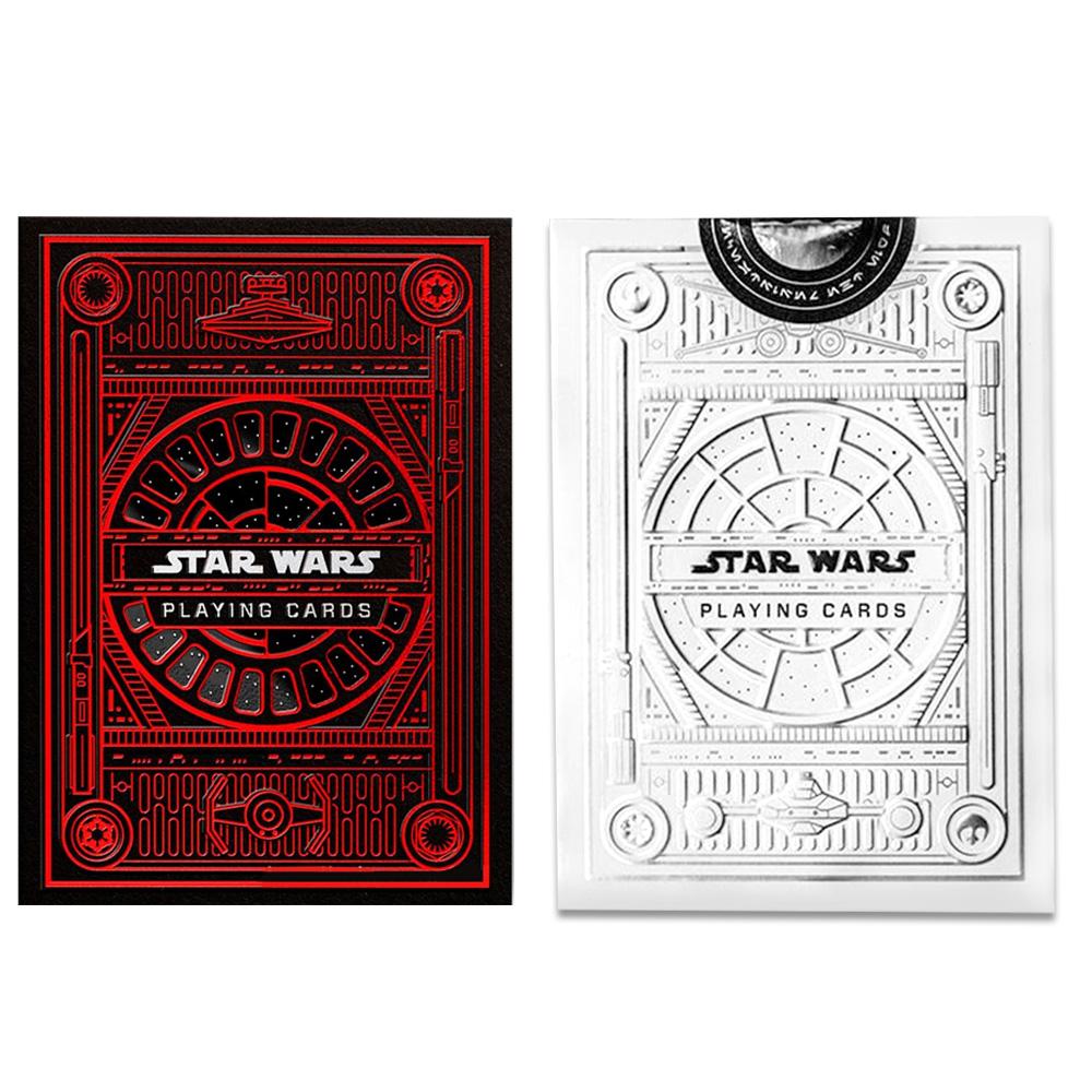 Baralho Star Wars Branco e Dark Side ( Kit com 2 Baralhos )