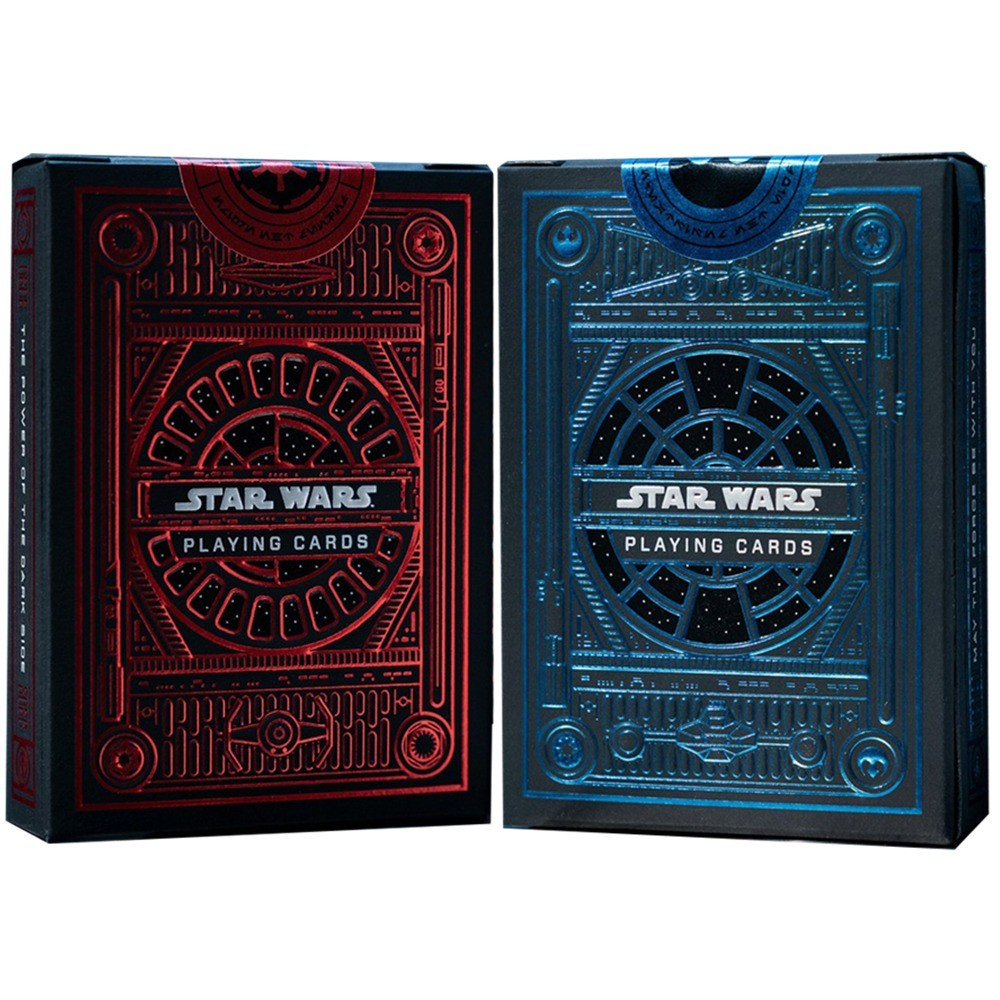 Baralho Star Wars Light Side e Dark Side ( Combo 2 unidades )