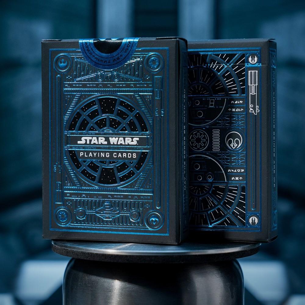 Baralho Star Wars Light Side e Dark Side ( Combo 2 unidades )