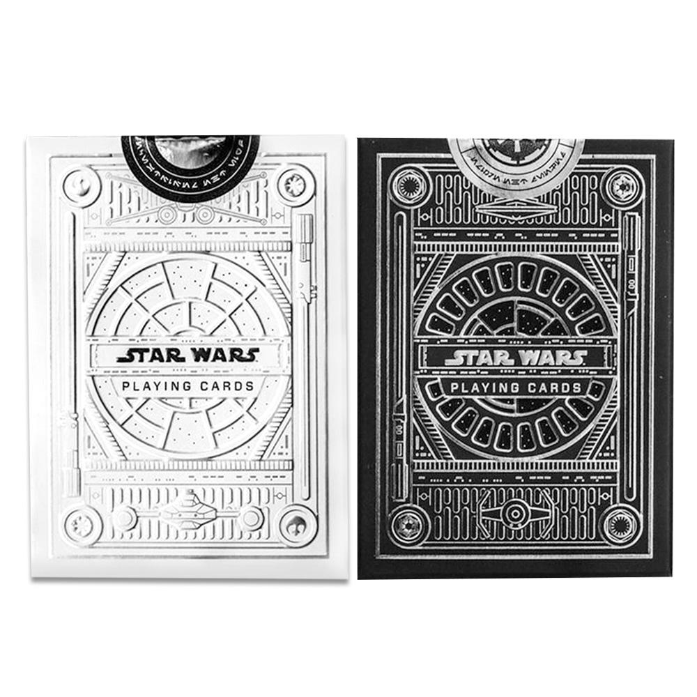 Baralho Star Wars Preto e Star Wars Branco ( Kit com 2 Baralhos )