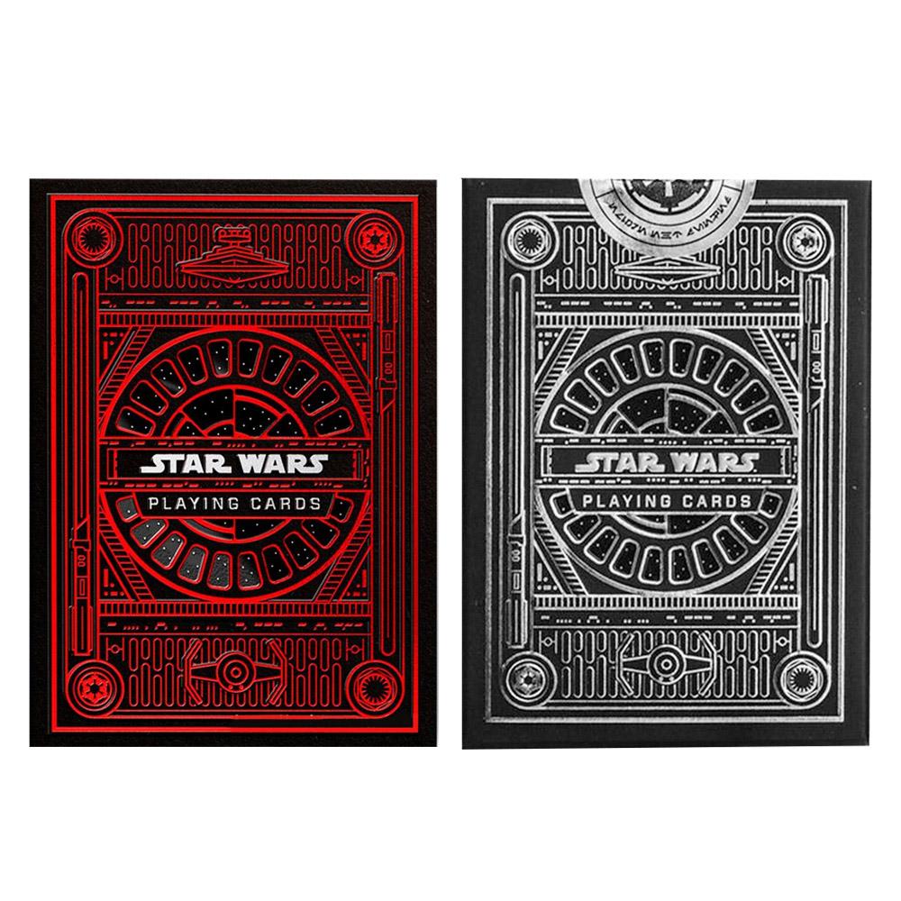Baralho Star Wars Preto e Star Wars Dark Side ( Kit com 2 Baralhos )